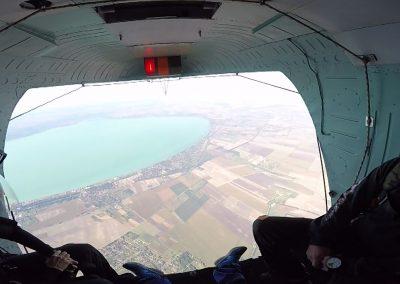 Kilátás a helikopterből